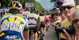 Arrivée du Tour de France