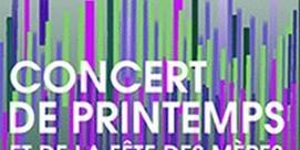 Concert de Printemps et de la fête des Mères