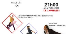 Exhibition de patinage artistique