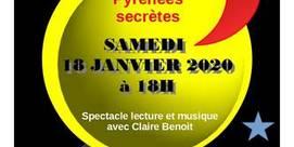 """Spectacle """"Pyrénées secrètes"""" à la Médiathèque"""
