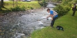 Concours de pêche à la truite