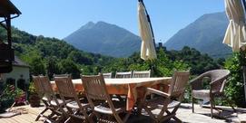 Chambre d'hôtes avec vue sur la montagne