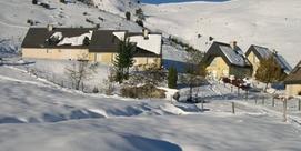 Maison mitoyenne en pied de pistes, à Val Louron
