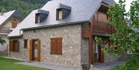 Maison indépendante dans un petit village du Louron