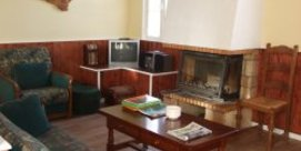 Appartement dans maison de village avec cheminée