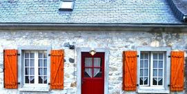 Grange mitoyenne rénovée en Val d'Azun