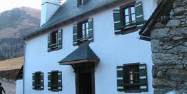 Ancienne maison bigourdane dans le Val d'Azun
