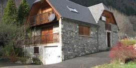 Appartement dans maison dans un village du Louron