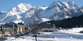 Maison sur pied des pistes de la station du Val Louron