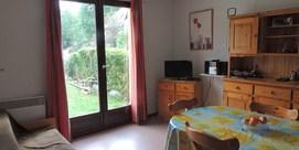 Appartement avec jardinet à Génos