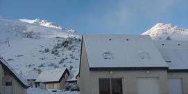Maison  mitoyenne dans le hameau de Belle Sayette au pied des pistes