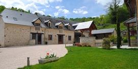 Casa de huéspedes en una granja