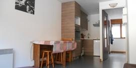 Studio 4 pers, dans résidence au Grand Tourmalet