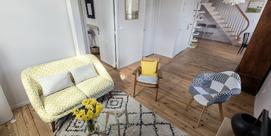 Appartement familial en ville à Bagnères-de-Bigorre – 2 chambres, 4 pers.