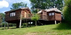 Votre cabane en bois sur pilotis