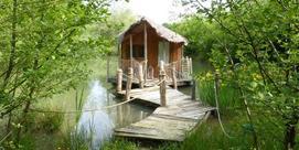 La cabane sur l'eau :