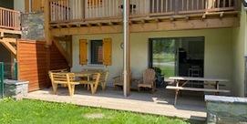Appartement récent en rez-de-chaussée, proche du lac de Balnéa et de la télécabine Skyvall
