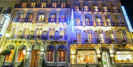 Comfortable hotel in a superb Belle Epoque building