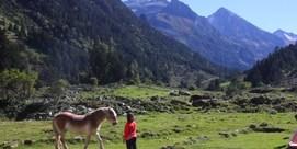 Refuge de montagne typique des Pyrénées en plein cœur du Parc National à 1374 m