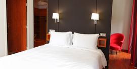 Hotel moderno y caluroso