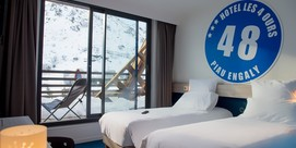 Hôtel style « ski cosy » en pied de pistes