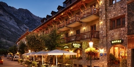 A 3 star hotel in Benasque