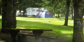 CAMPING DU LAC D'ESTAING