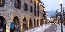 Bulles de neige à Saint-Lary