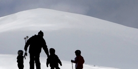 Super value family ski weekend