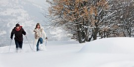 Snowshoe walks at the Grand Sites