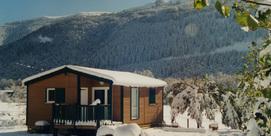 Romantic ski chalet