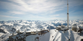 Le Pic du Midi en mode freeride