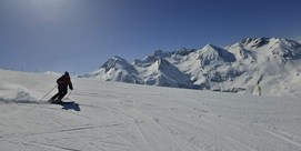 Bison futé au ski : journée blanche !