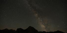 Chemin sous les étoiles
