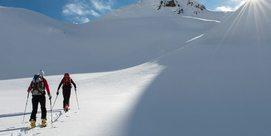 Hélico et ski de rando