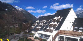 Holiday village in the centre of Saint lary
