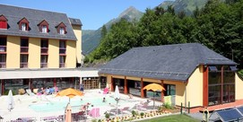 Holiday village with spa centre