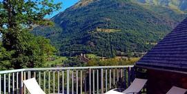 Résidence en balcon sur la vallée, à Luz